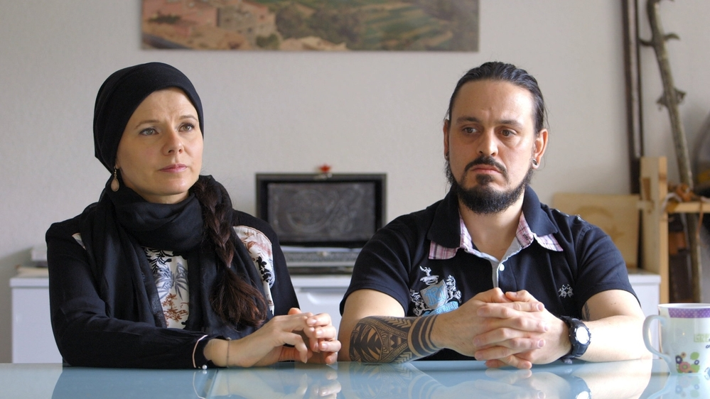 Miriam et Franco Lo Manto, le couple présent dans le film.