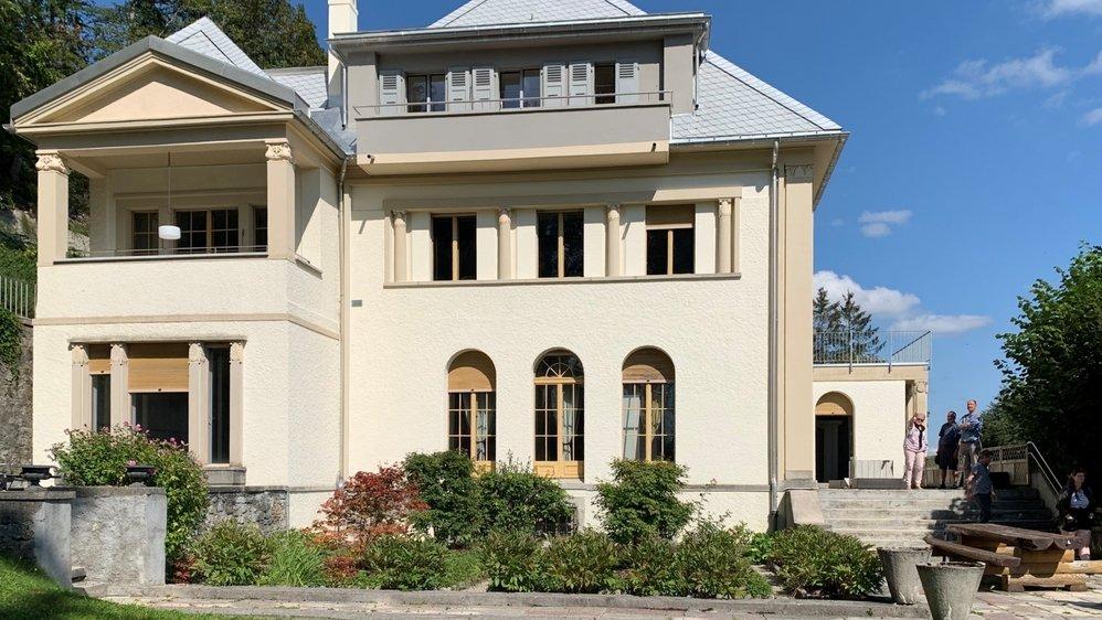 Une partie de la villa La Forêt, dessinée par Le Corbusier pour le fondateur de Zenith Georges Favre-Jacot, est à louer.