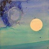 Expo : Blue skies & Sunny Mood - Mélanie Gilliand