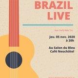 Brazil live avec Darlly Maia trio