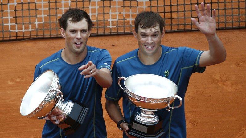 Tennis:  les frères Bryan mettent fin à leur carrière