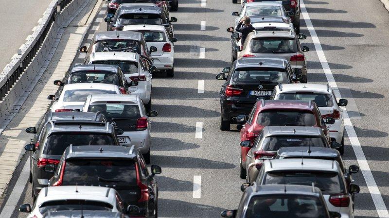 Le trafic routier a augmenté l'an dernier.