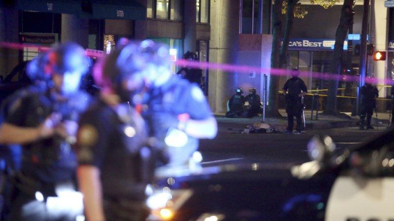 Portland a été l'épicentre des fréquentes manifestations contre les violences policières aux Etats-Unis depuis la mort de George Floyd.