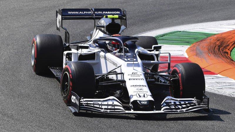 Sensation au GP d'Italie: en Formule 1, le Français Pierre Gasly s'impose devant Carlos Sainz