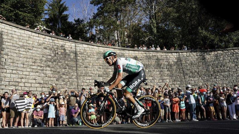 Cyclisme – Tour de France: l'Allemand Lennard Kämna gagne la 16e étape