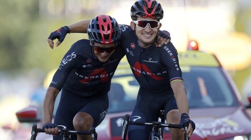 Cyclisme – Tour de France: Michal Kwiatkowski remporte la 18e étape, devant Richard Carapaz