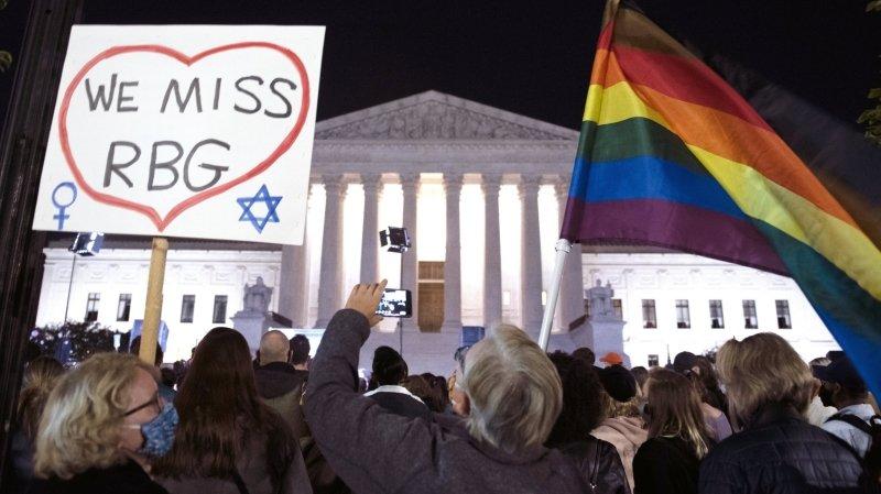 Etats-Unis: la place vacante de la Cour suprême, enjeu majeur de campagne
