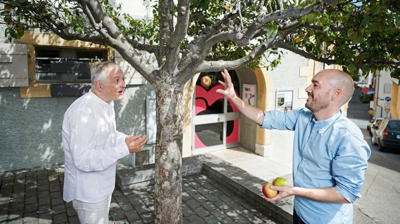 Neuchâtel: passage de témoin au théâtre du Pommier