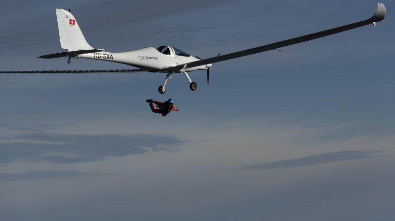 SolarStratos: Raphaël Domjan réalise la première «chute libre solaire»