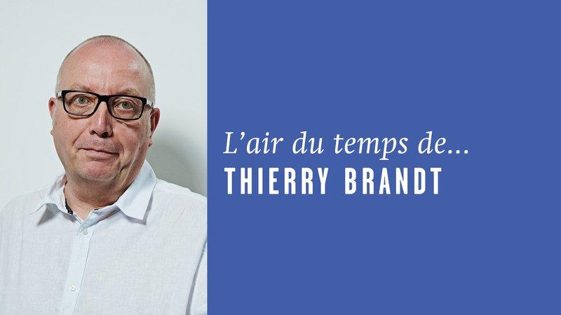 «Passer avant un autre», l'air du temps de Thierry Brandt