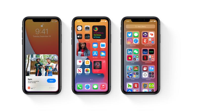 Téléphone: Apple lance iOS14 pour iPhone et iPad