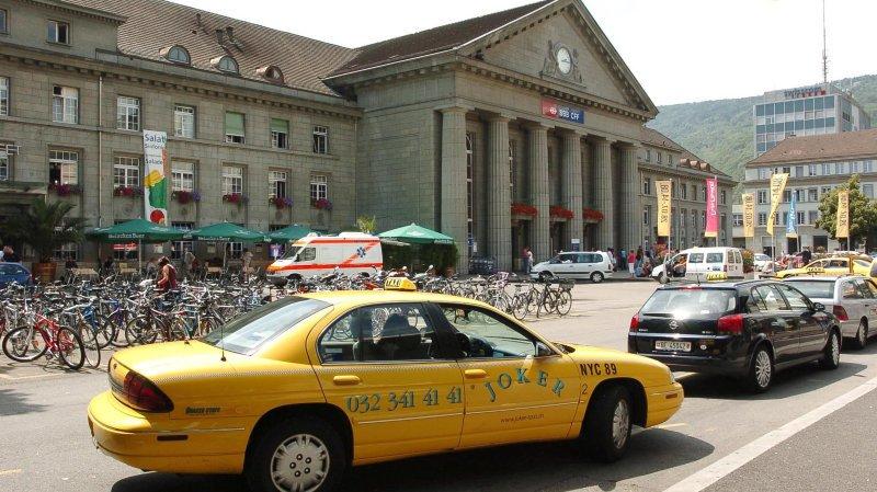 La ville de Bienne (ici la gare) renouvelle ses autorités le 27 septembre prochain.