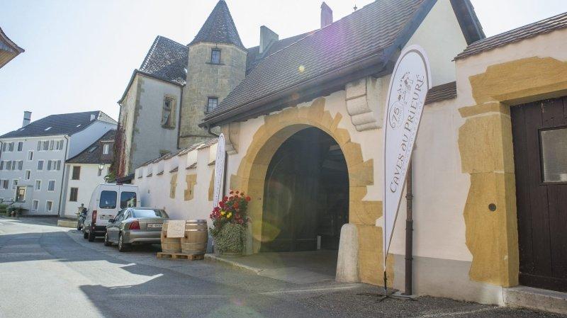 Les Caves du prieuré, à Cormondrèche, lauréate d'une médaille grand or au Mondial des pinots 2020.