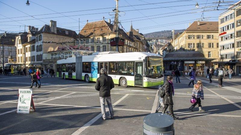 TransN mènera des travaux de nuit entre la place Pury et Serrières