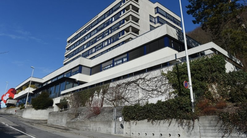 L'Hôpital du Jura bernois, à Moutier.