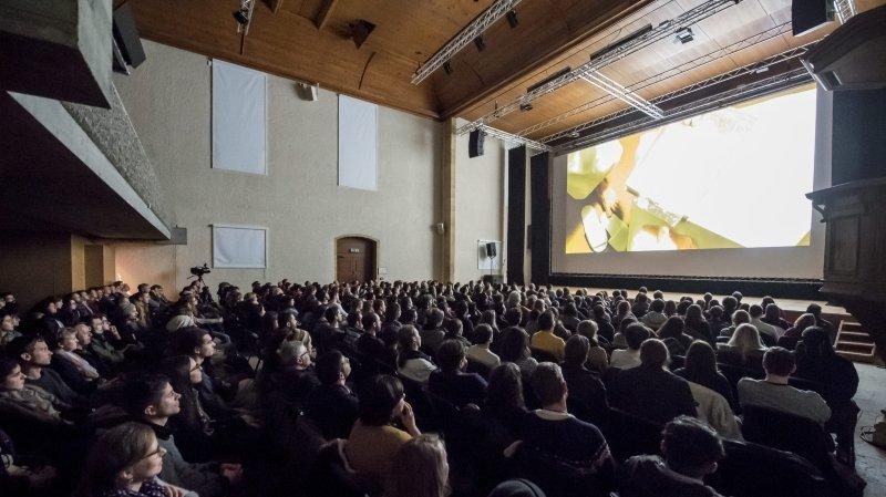 Habituellement organisée au temple du Bas (ici en 2017), la soirée de projection du Festival de courgemétrage se déroulera en ligne ce vendredi, depuis les patinoires.