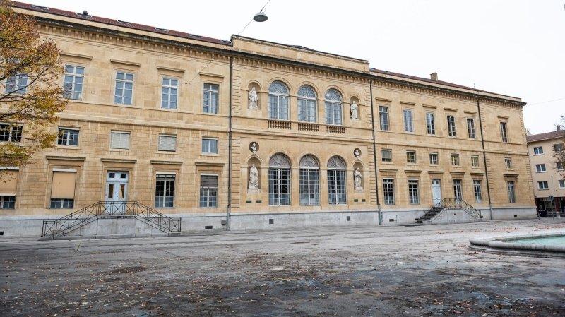 Neuchâtel: concours d'architecture pour regrouper les bibliothèques au Collège latin