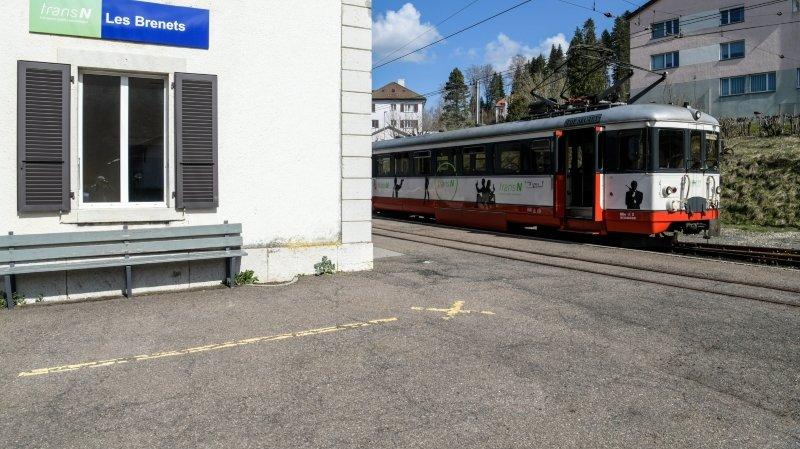 Le train Le Locle – Les Brenets remplacé par des bus