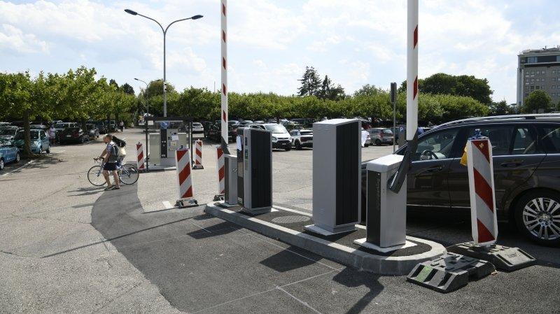 Neuchâtel: les barrières vont s'abaisser au parking des Jeunes-Rives