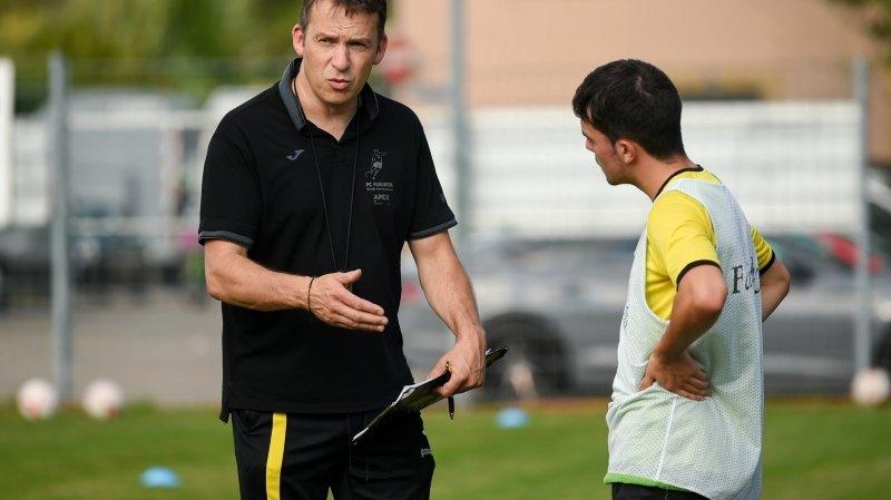 L'entraîneur fleurisan Luc Floquet et ses hommes recevront Marin.