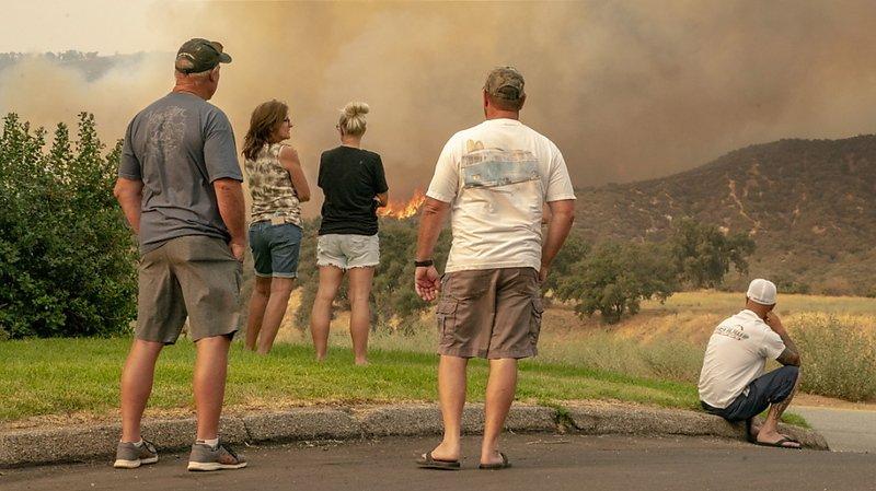 Etats-Unis: les incendies en Californie ont ravagé plus de 8000km2