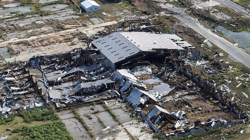 Intempéries: l'ouragan Laura a fait six morts et «une énorme quantité de dégâts» en Louisiane