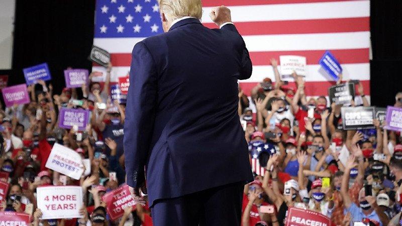 Présidentielles américaines: le meeting de Trump passe mal auprès des autorités locales du Nevada
