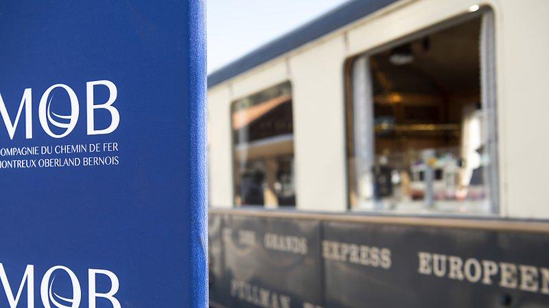 Vaud: un train du MOB déraille près de Rossinière, pas de blessé