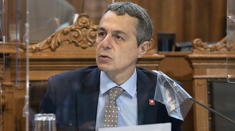 La Suisse du conseiller fédéral Ignazio Cassis est plus offensive face à la situation des droits de l'homme en Arabie saoudite (archives).