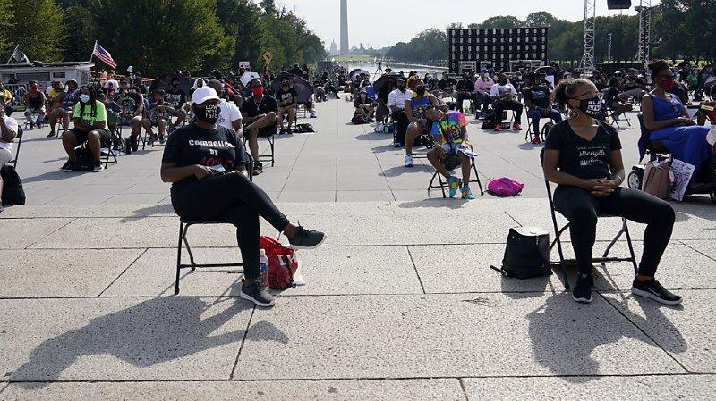Etats-Unis: une foule de manifestants à Washington pour dénoncer le racisme