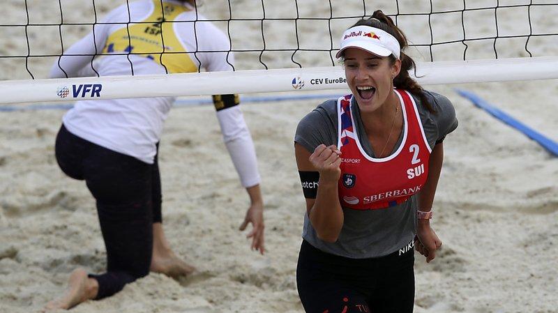 Beach-volley: Joana Heidrich et Anouk Vergé-Dépré championnes d'Europe