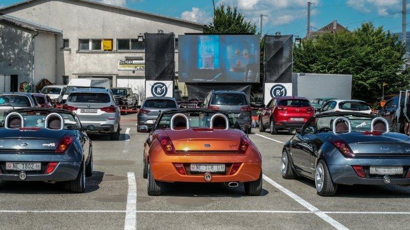 Annulation du cinéma drive-in de La Chaux-de-Fonds