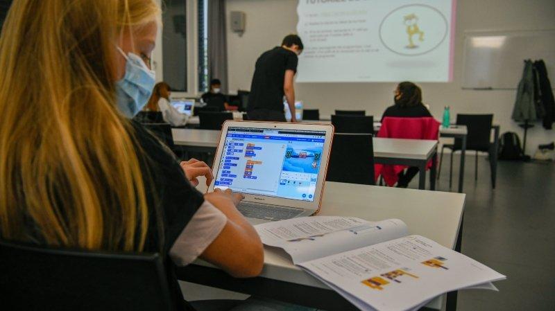 L'EPFL fait mouche en initiant les filles au code informatique