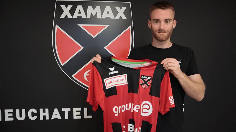 Thibault Corbaz continuera de jouer pour Neuchâtel Xamax.
