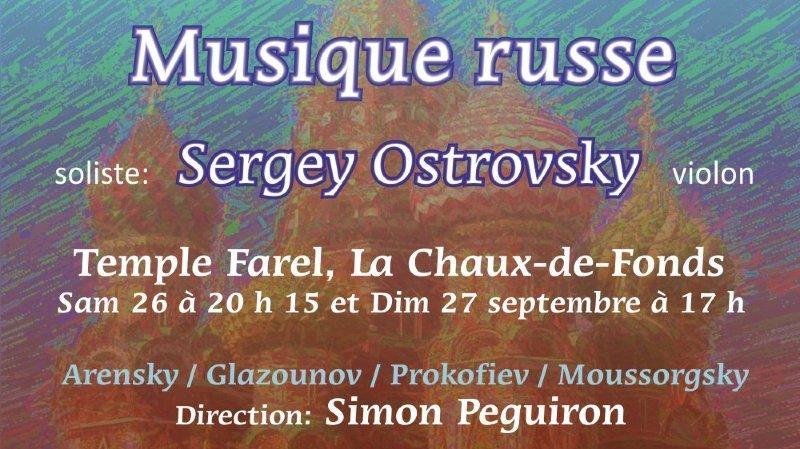 Musique russe  par  l'OCC