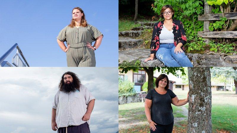 Obésité et grossophobie: quatre Neuchâtelois témoignent