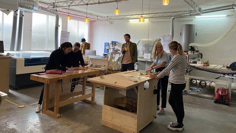 A La Chaux-de-Fonds, le centre d'art Quartier général se met à table