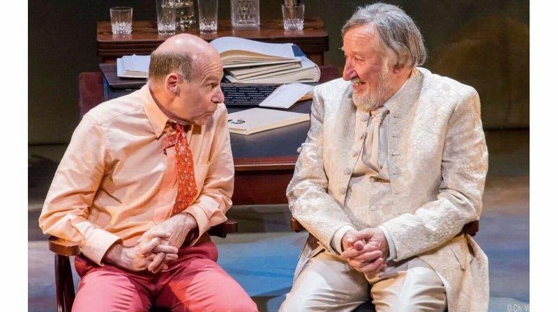 Didier Bénureau et Jean-François Balmer.