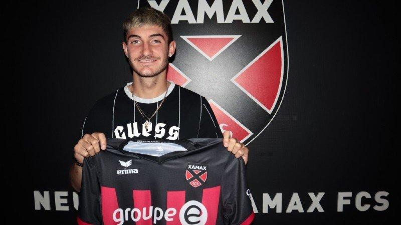 Fabio Saiz passe professionnel à Xamax