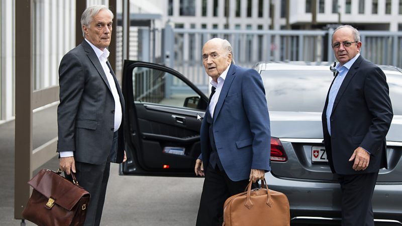 Affaire FIFA: Sepp Blatter auditionné par le Ministère public