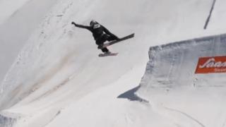 Ski freestyle: Mathilde Gremaud réalise un Switch Double Cork 1440, une première féminine
