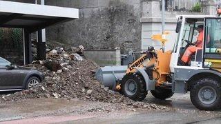 Inondations et glissements de terrain au Tessin