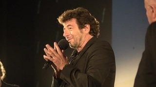 FFFH: Patrick Bruel en visite à Bienne