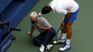 Tennis - US Open: Djokovic présente ses excuses après sa disqualification