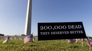 Coronavirus: les Etats-Unis déplorent plus de 200'000 morts