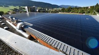 Couvet: une centrale photovoltaïque raccorde les Vallonniers au soleil