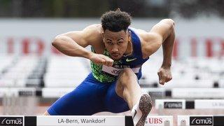 Athlétisme: Jason Joseph améliore son record de Suisse aux 110 m haies, Sprunger en or