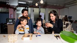 La Chaux-de-Fonds: le Fablab a ouvert ses portes au public pour fêter deux ans de partage de savoir-faire