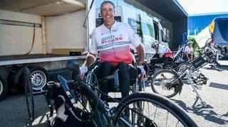 Handbike: le premier Giro Suisse de l'histoire a fait halte à Neuchâtel