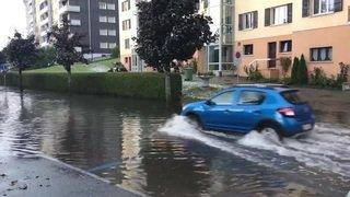 La Chaux-de-Fonds: l'orage de mercredi a mobilisé le SIS des Montagnes